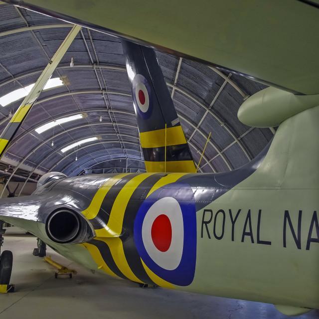 """Hawker Sea Hawk FGA.6"" stock image"