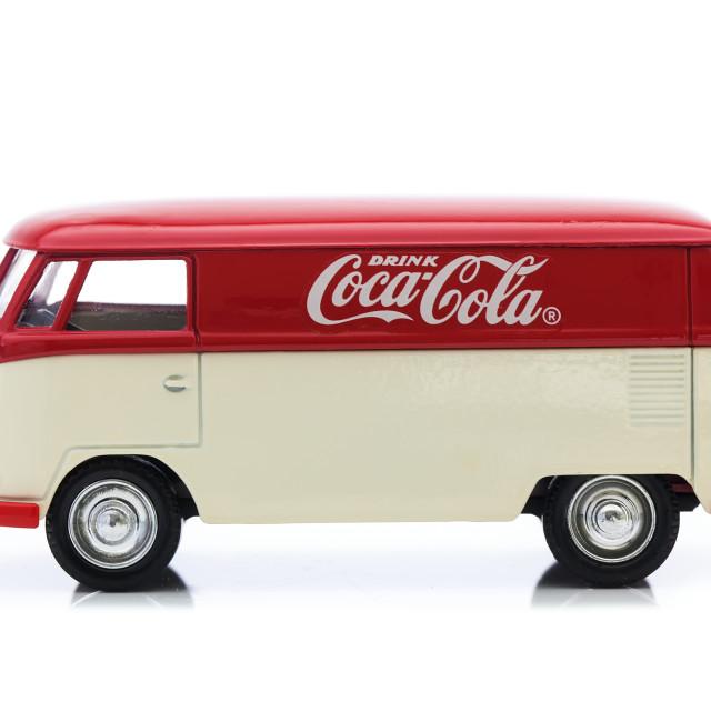 """VW Van"" stock image"