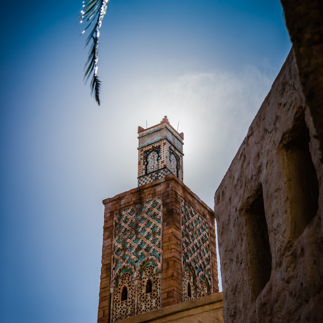 """""""Moroccan Tower"""" stock image"""