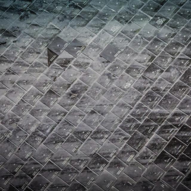 """Space Shuttle Tiles"" stock image"
