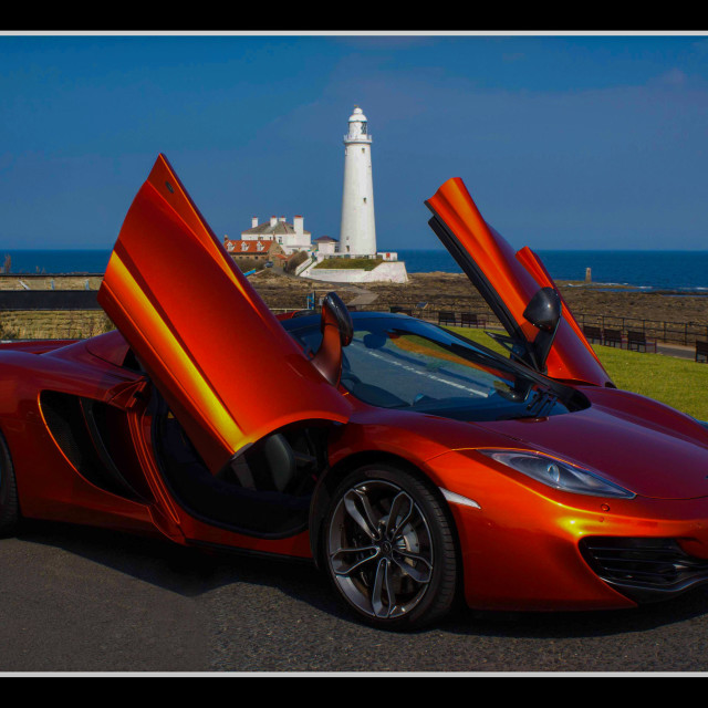 """McClaren Super Car"" stock image"