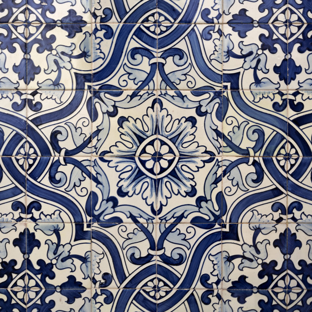 """Portuguese Tiles"" stock image"