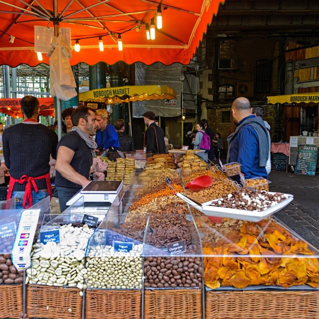 """""""Borough Market"""" stock image"""