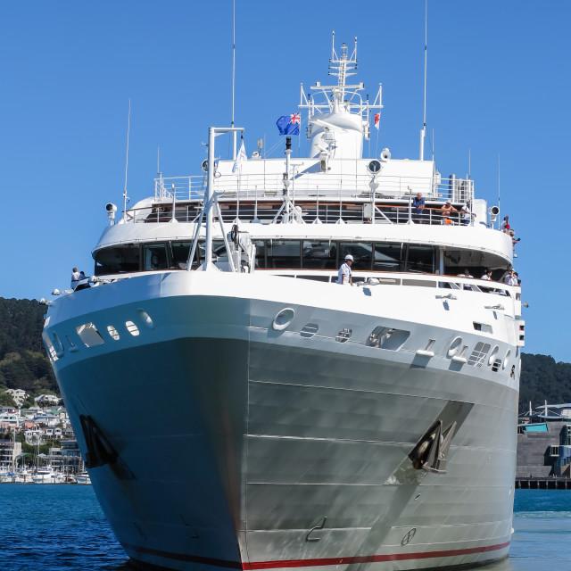 """ship using bow propeller"" stock image"