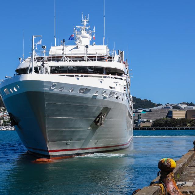 """Le Soleal leaves Wellington"" stock image"