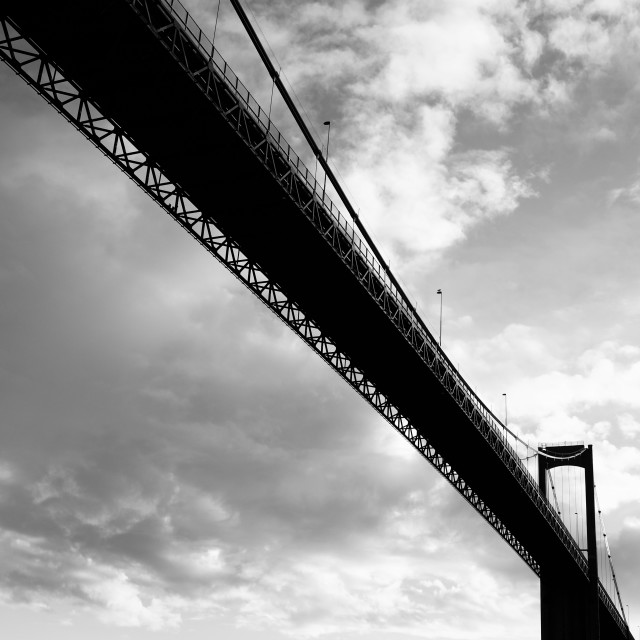 """Brevik Bridge"" stock image"