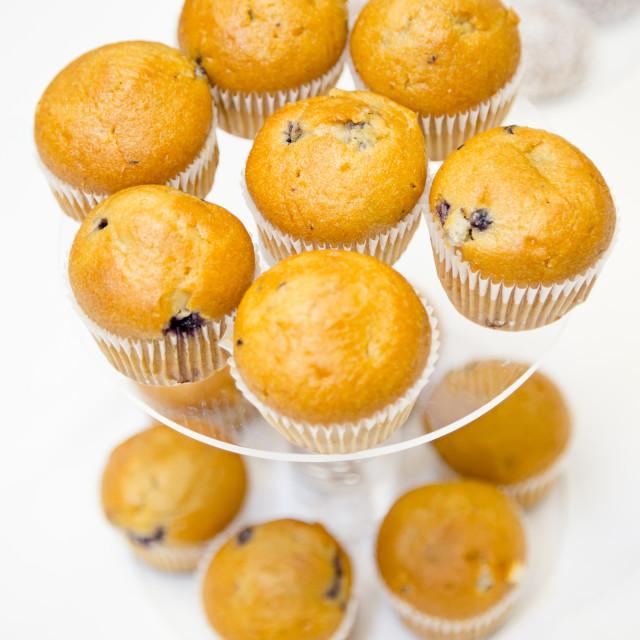"""Muffins"" stock image"
