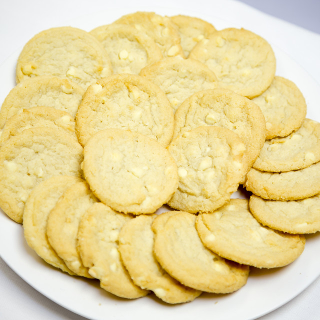 """Choc chip cookies"" stock image"