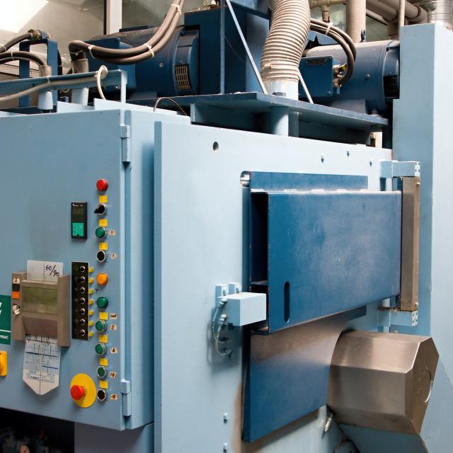 """Industrial washing machines"" stock image"