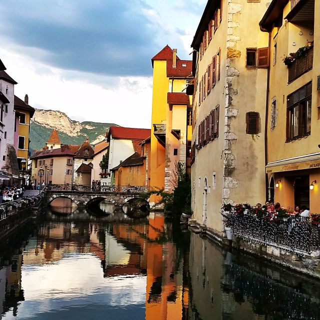 """""""Annecy Old Town"""" stock image"""