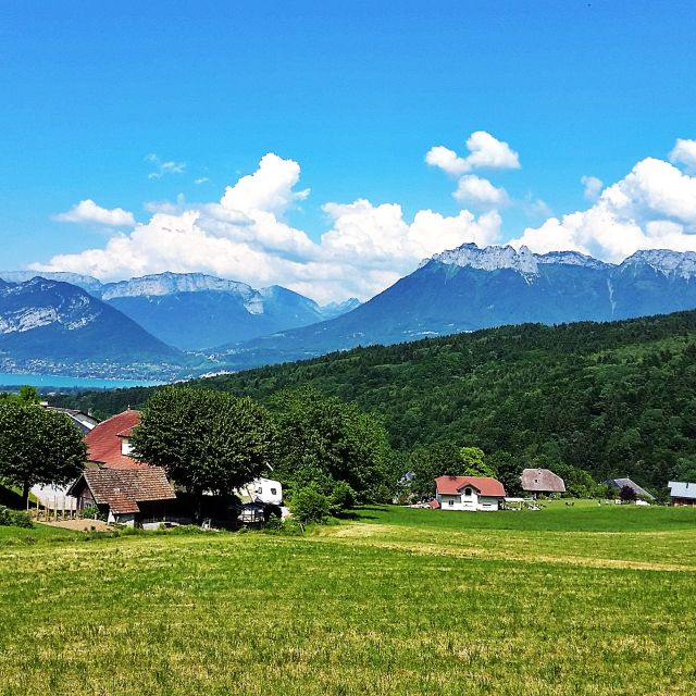 """""""Lake Annecy"""" stock image"""