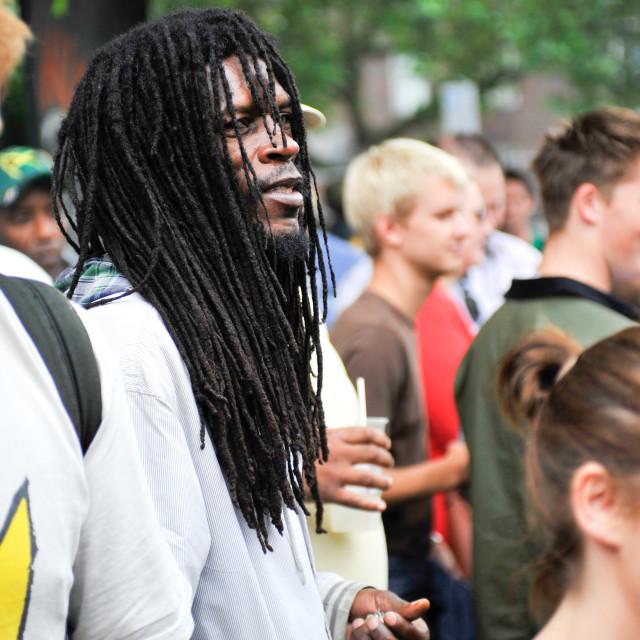 """Rastafarian"" stock image"