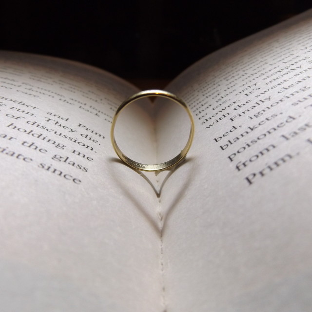 """ring of hearts"" stock image"