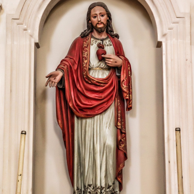 """Statue Of Jesus"" stock image"