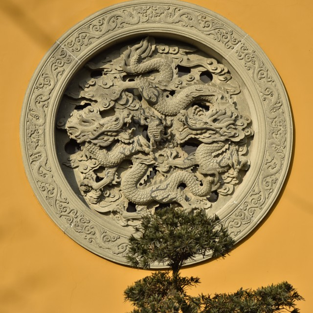 """""""the lingyin temple"""" stock image"""