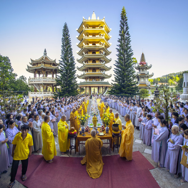 """Buddhist ceremony"" stock image"