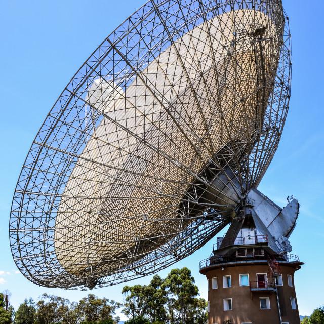 """CSIRO Parkes Observatory"" stock image"