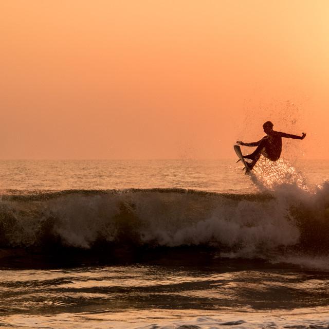"""Kiefer Sunset Air"" stock image"