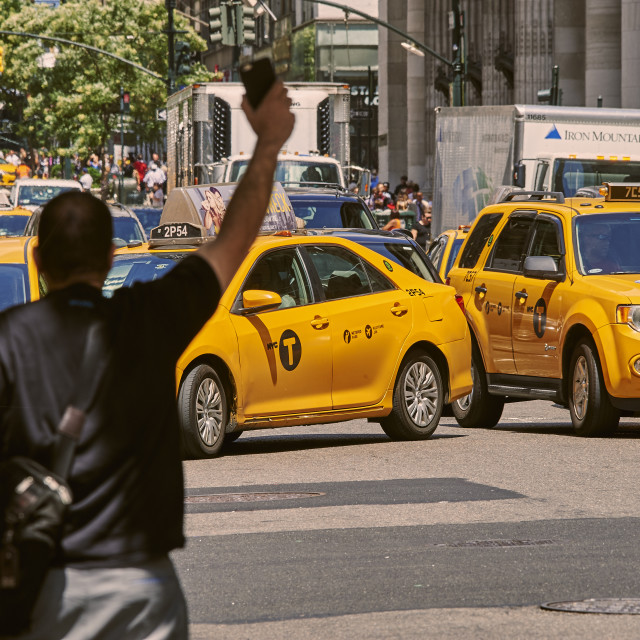 """TAXI"" stock image"
