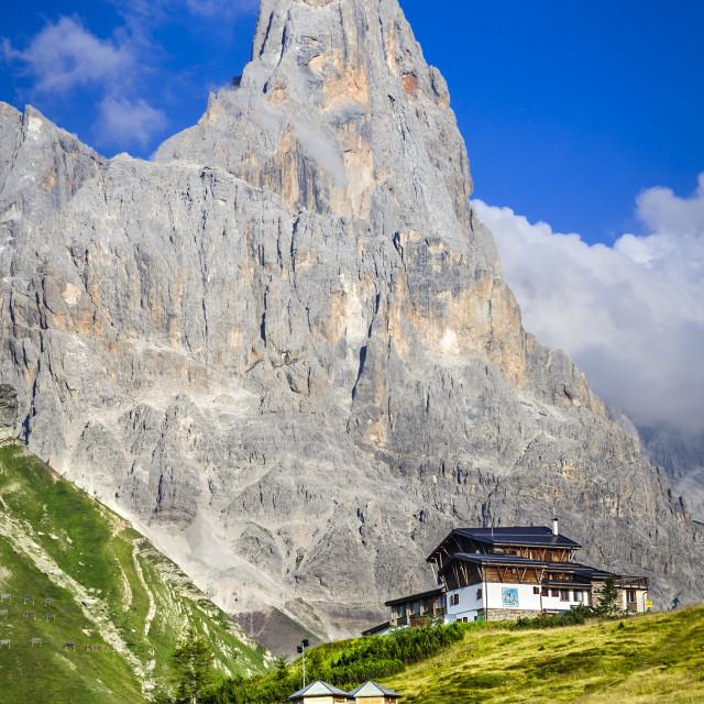 """""""Cimone, Dolomites Alps, Italy"""" stock image"""