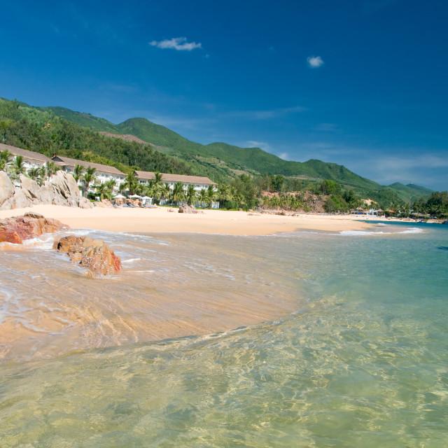 """Bai Xep (Xep beach), Quy Nhon, Vietnam"" stock image"