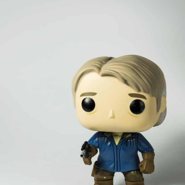 """""""Han Solo LootCrate Exclusive"""" stock image"""