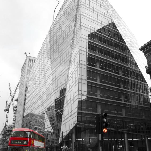 """Victoria Street, London"" stock image"