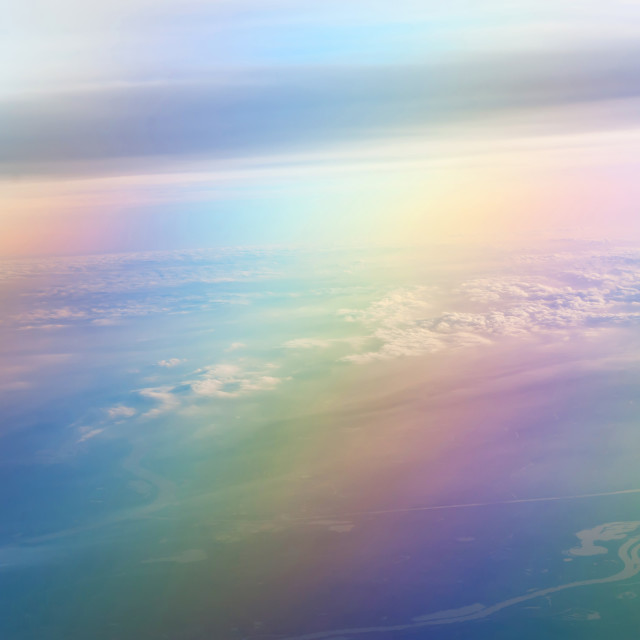 """Ranbow earth"" stock image"