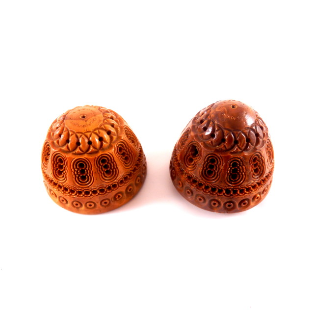 """""""Antique Carved Coquilla Nut"""" stock image"""
