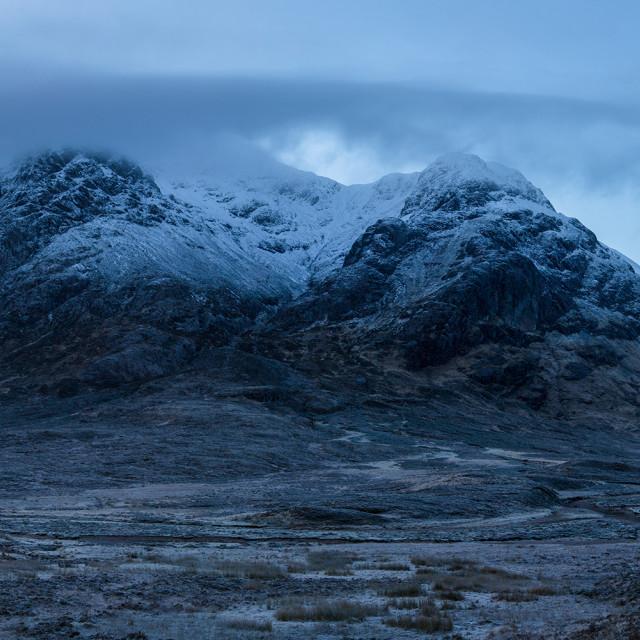 """Buachaille Etive Mor, Altnafeadh, Glencoe"" stock image"