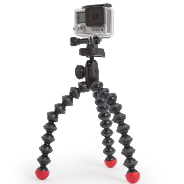 """""""Amsterdam, the Netherlands - June 30, 2015: GoPro Hero 4 Black Edition isolated on white background, GoPro is a brand of high-definition personal cameras, often used in extreme action video photography"""" stock image"""