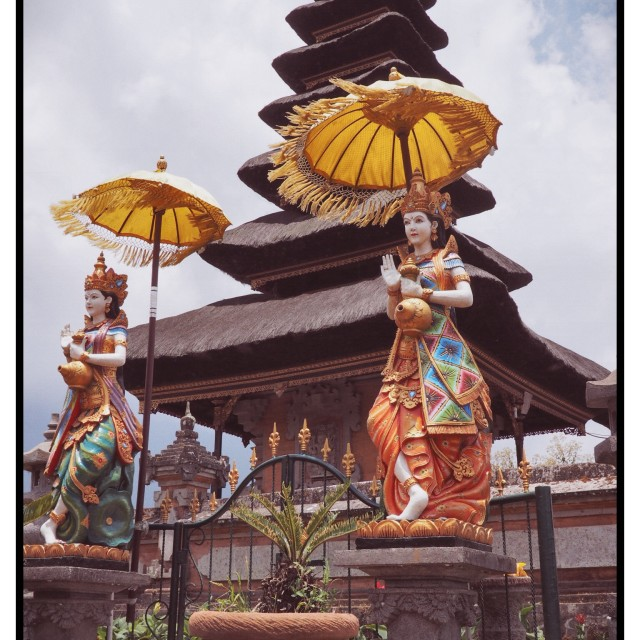 """Temple in Bali 2"" stock image"