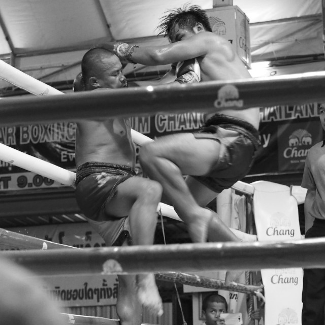 """""""May Thai Boxing 2"""" stock image"""