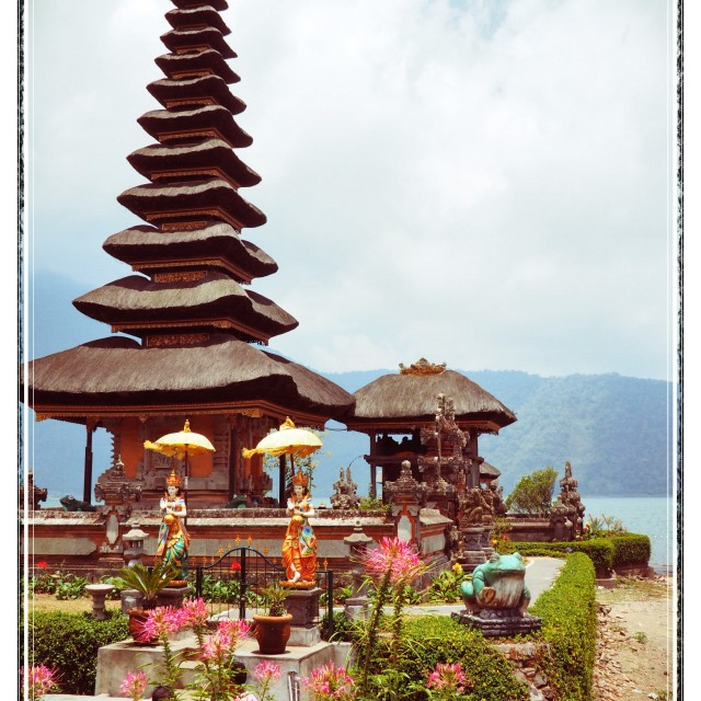 """Temple in Bali"" stock image"