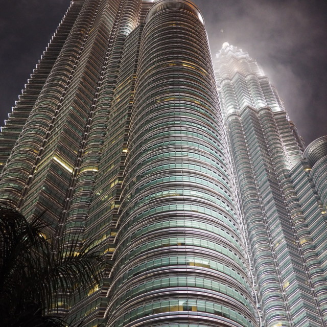 """""""Petronas Towers 2"""" stock image"""