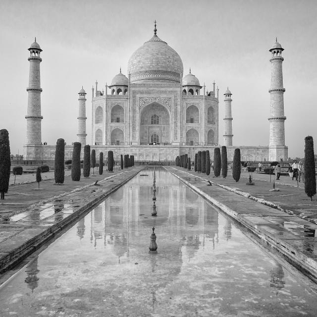 """Agra - Taj Mahal"" stock image"