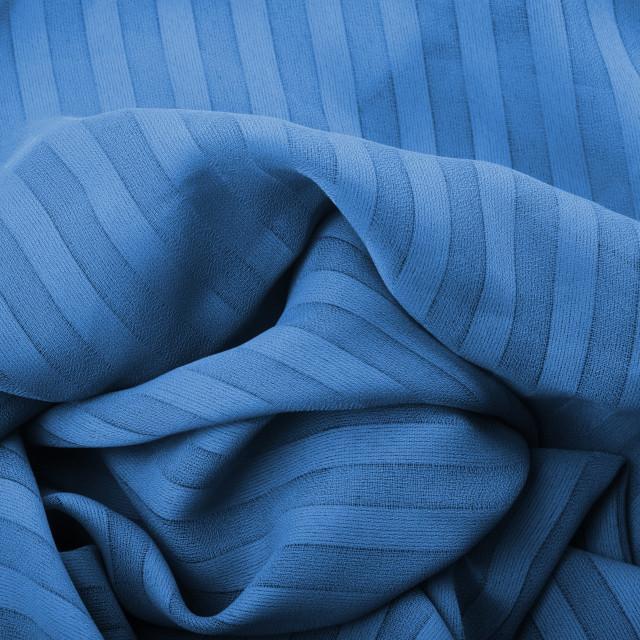 """blue fabric close up"" stock image"