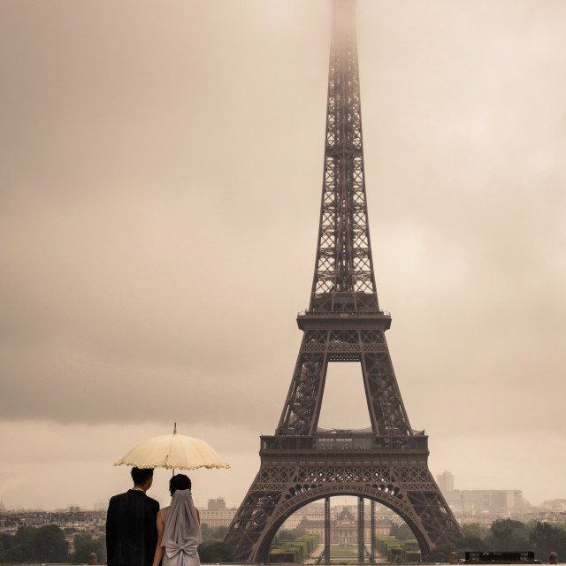 """Love in Paris"" stock image"