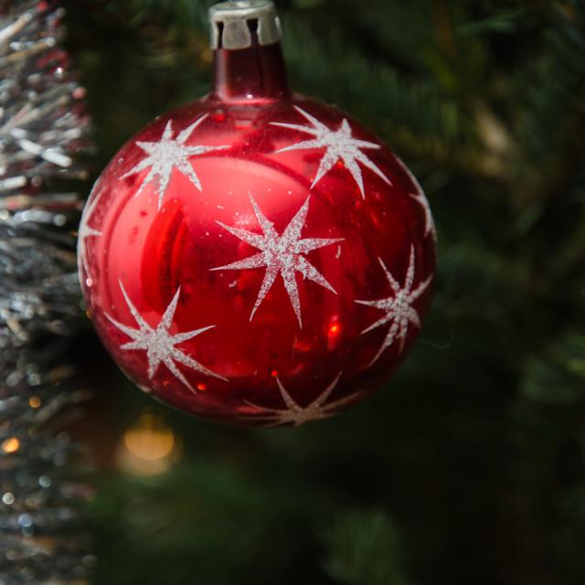 """""""Christmas decoration ball"""" stock image"""