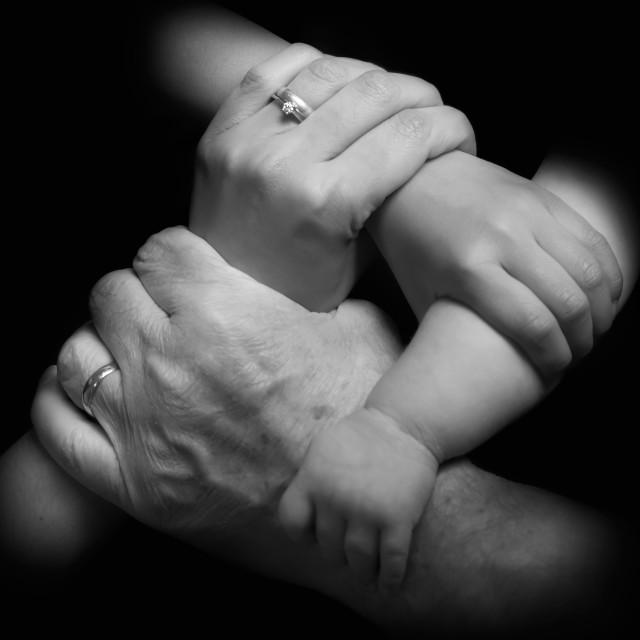 """Family bonds"" stock image"