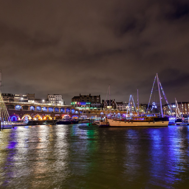 """Royal Harbour, Ramsgate"" stock image"