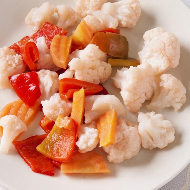 """""""Pickled Vegetables"""" stock image"""