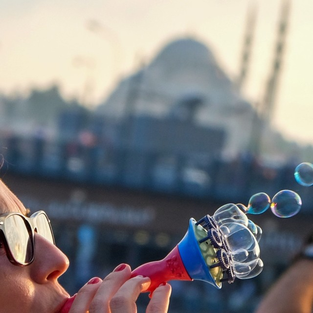 """Bubbles İstanbul"" stock image"