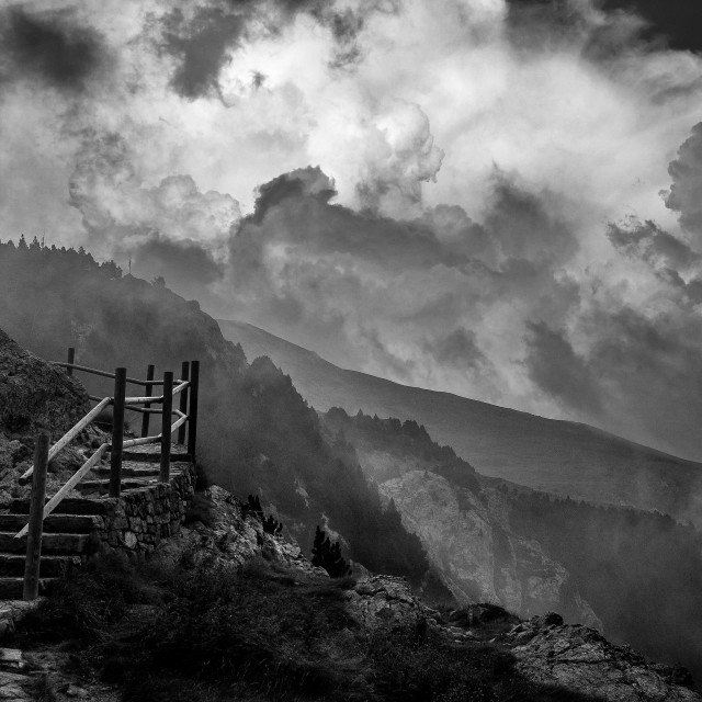 """Stairs to sky"" stock image"