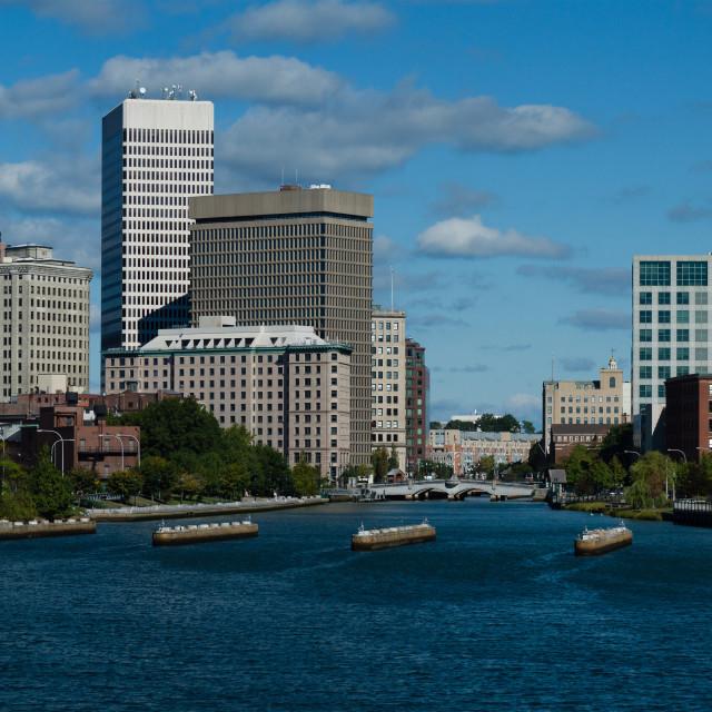 """Providence Skyline 2"" stock image"