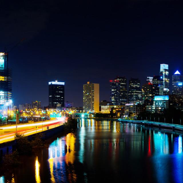 """Philadelphia Skyline"" stock image"