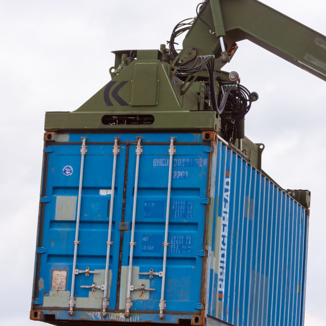 """Shipping Container"" stock image"