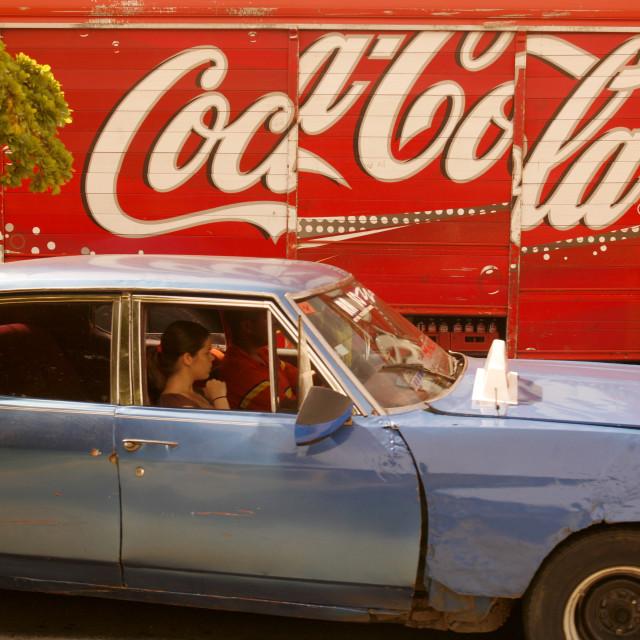 """SOUTH AMERICA VENEZUELA MARACAIBO TOWN"" stock image"