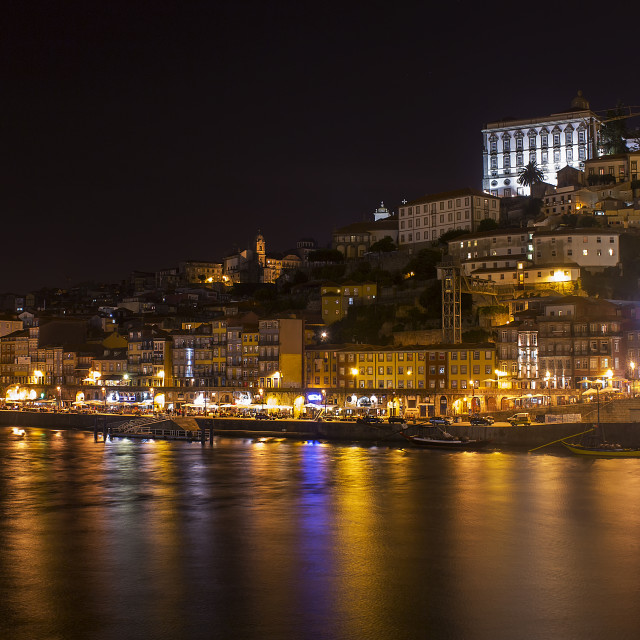 """Oporto by night"" stock image"