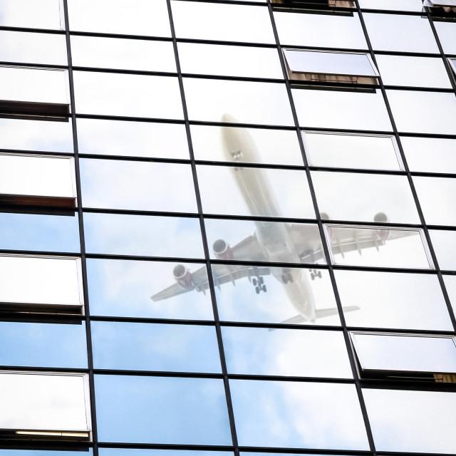 """""""jet reflection"""" stock image"""